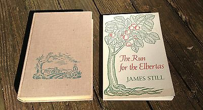 "LOT of (2) *SIGNED* by JAMES STILL, inc. a FIRST Edition HC of ""RIVER OF EARTH"""