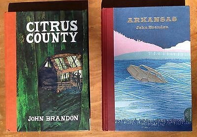 Lot of 2 First Editions McSWEENEY's HARDCOVERS by JOHN BRANDON. Both in EXC COND