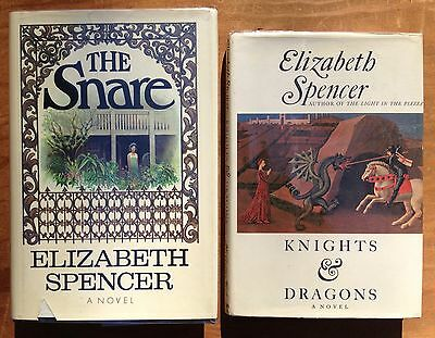 Two 1st Edition Hardcovers by ELIZABETH SPENCER. One signed!