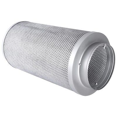 "8"" Hydroponics Air Carbon Filter Fit Charcoal Inline Fan Odor Control Scrubber"
