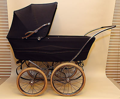 Vintage English Royale Materno Baby Pram Buggy Stroller Carriage