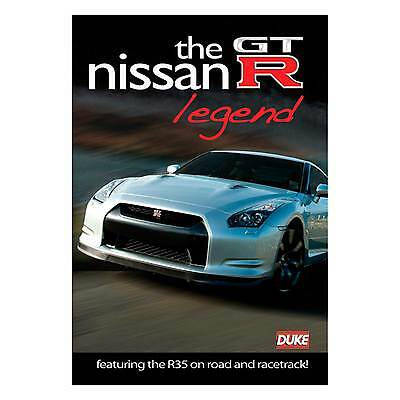 Duke Nissan GTR Legend - From Road To Race Track PAL DVD R32 R35