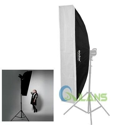 Godox 35×160cm/13.8×63 Softbox Bowens Mount for Studio Strobe Light Bulb Flash