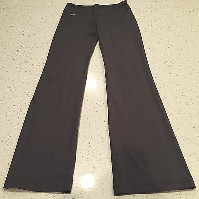 Women's Under Armour Yoga Pants Size Small Yoga Work Out Running Gray