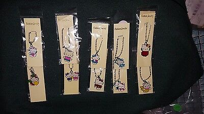 HELLO KITTY NECKLACES -LOT OF 10-BRAND NEW Set 3