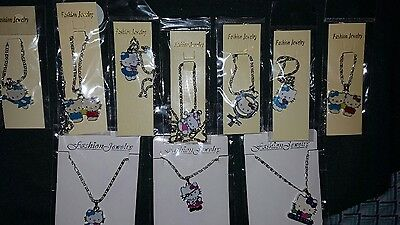 HELLO KITTY NECKLACES -LOT OF 10-BRAND NEW Set 4