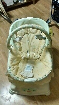 Fisher Price Soothing Sounds & Motion Baby Boys or Girls Newborn & Up Glider