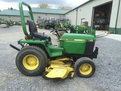 1990 John Deere 755 Crawler Loaders