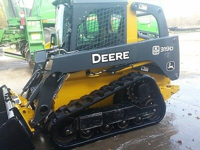 2013 John Deere 319D Skid Steer Loader