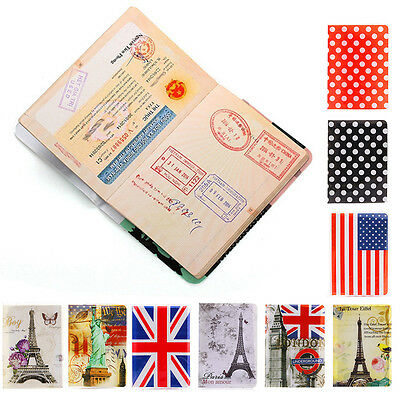 Passport Cover Case Holder ID Credit Card Cover Document Protector Organizer