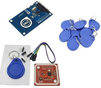 PN532 NFC RFID Reader/Writer Controller Shield KITS For Arduino PN532 Red/Blue l