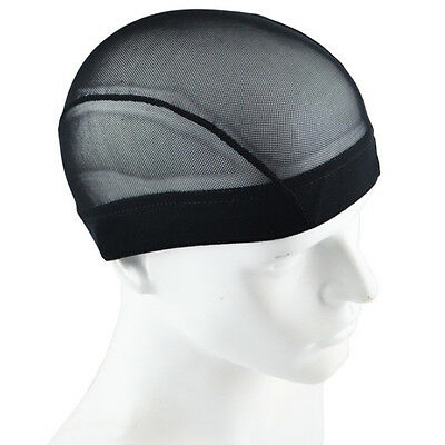 Black Breathable Mesh Dome Style Wig Cap For Making Wig Snood Stretch Wig Cap
