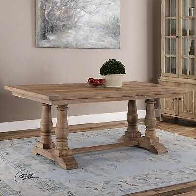 Uttermost 24557 Stratford Salvaged Wood Dining Table New