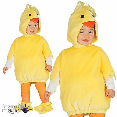 Boys Girls Baby Toddler Easter Spring Chick Chicken Fancy Dress Costume Outfit