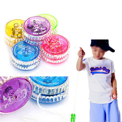 New Light Up Yoyo Trick Yo Yo Clutch Mechanism Child Toy Speed Ball Return Top
