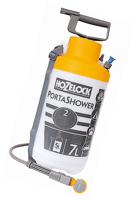 Hozelock 4-in-1 Porta Shower Compact Portable Shower For Camping and Caravanning