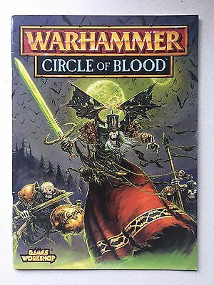 Games Workshop Warhammer Circle Of Blood Campaign Source Book - Fast Post
