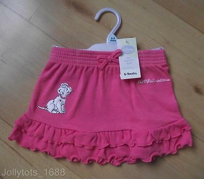 BNWT DISNEY Baby Girls Clothes 3-18 Months 101 DALMATIONS Pink Cotton RaRa Skirt