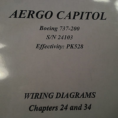 Boeing 737 500 wiring diagram manuals a 5 vol set 33857 picclick boeing 737 200 wiring diagrams chapter 24 34 manual asfbconference2016 Image collections