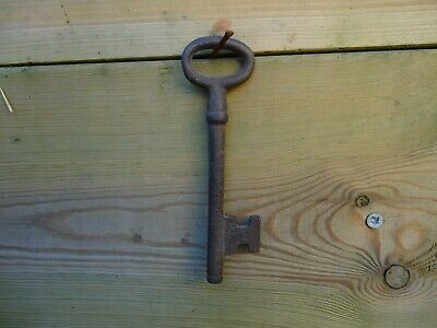 Large Iron Key Old Looking Metal -Lock,Castle Keys-Theatre Film Prop Gift 6