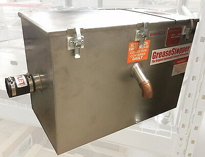 GreaseStopper 20FR Automatic Grease Interceptor, Trap