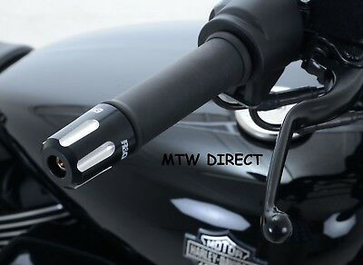 R&G RACING PAIR BAR END SLIDERS Harley Davidson Street 750 (2017)