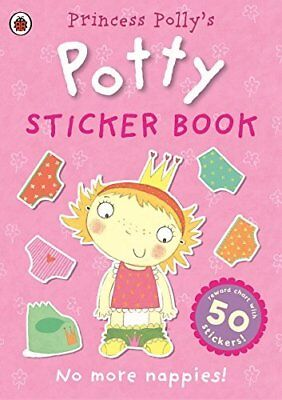 Princess Pollys Potty sticker activity book Pott by Ladybird New Paperback Book