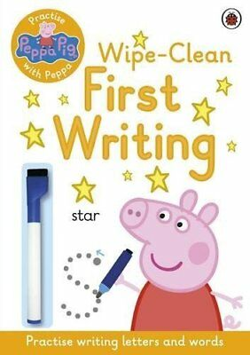 Peppa Pig: Practise with Peppa: Wipe-Clean First Writing by 0 New Paperback Book