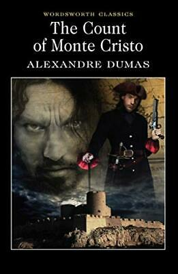 The Count of Monte Cristo Wordsworth Clas by Alexandre Dumas New Paperback Book