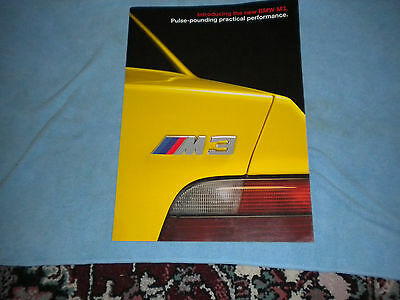 Bmw Dealer Brochure M3