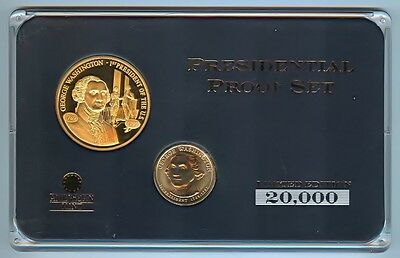American Mint George Washington Presidential Coin & Medal Proof Set