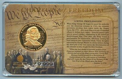 American Mint 'charters Of Freedom' George Mason Medal