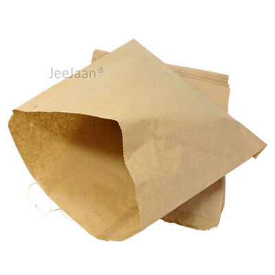 Brown Paper Bags Food Bags strung for Sandwiches Groceries Gift Shop