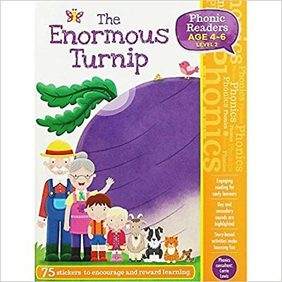 THE ENORMOUS TURNIP - PHONIC READERS LEVEL 2 age 4-6