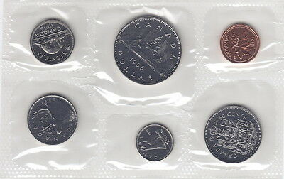 1985 Canada Proof-Like Coin Set By Royal Canadian Mint