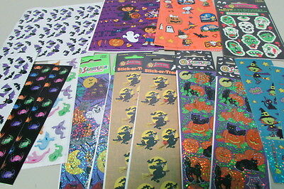 SandyLion Hallowe'en Stickers – Over 700 – Large Collection – Witches, Bats, ...