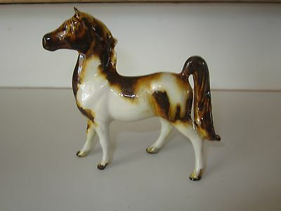 Antique Vintage Heavy Glazed Small Horse Signed
