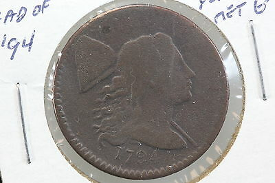 1794 Large Cent G Head of 1794 Minor Porosity