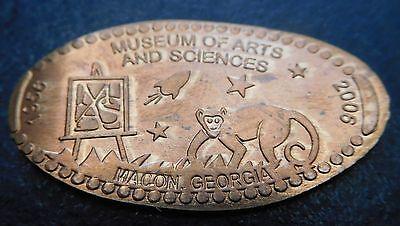 Macon,Ga. - Museum Of Arts & Sciences Copper Elongated Penny