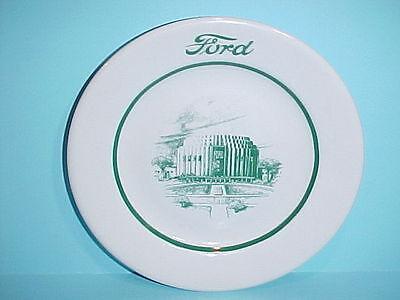 Ford Motor Restaurant Butter Plate Sterling China