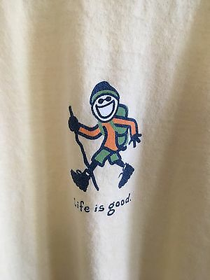 Life Is Good Women's T Shirt Long Sleeve Size Large