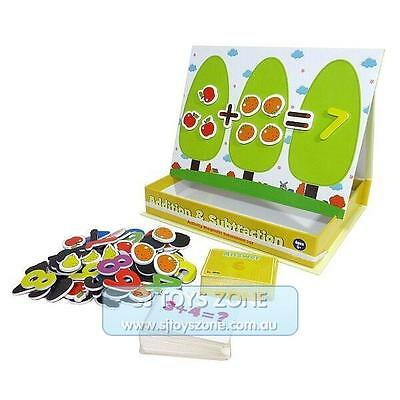 Inakids Educational Kids Magnetic Games Addition & Subtraction Math Learning Toy