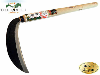 Japanese SONTOKU Professional Garden Grass Herbs Cutting Sickle,660 mm overall