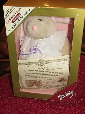 "BIALOSKY TREASURY PLUSH BUNNY RABBIT   ""KATIE"" PLUSH ANIMAL easter"