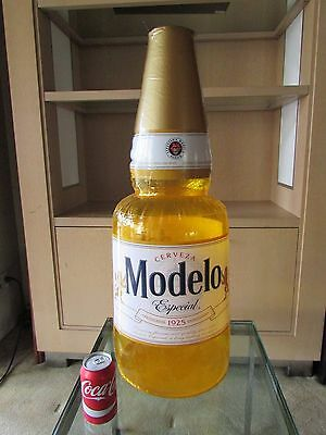 NEW Jumbo Modelo Cerveza Especial Beer Bottle Inflatable Blow up Bar pool