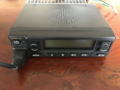 Kenwood TK-980 Mobile Radio Transceiver 800 Mhz w/ Mic & Accessory Harness
