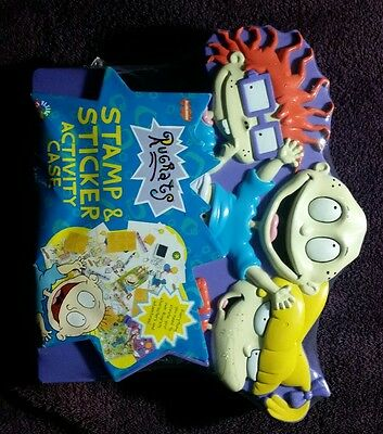 1997 Nickelodeon *RUGRATS* (Stamp & Sticker Activity Case) SEALED AND NEW!