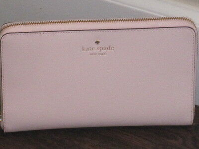 Kate Spade Mikas Pond Travel Wallet Pink Blush With Kate Spade Dustbag BNWT