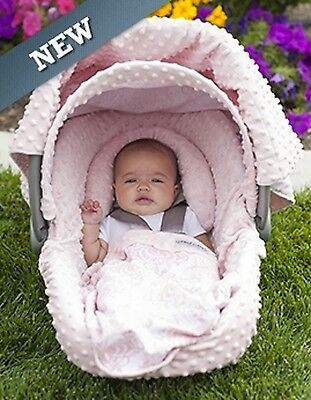Carseat Canopy Caboodle Infant Car Seat Canopy Cover 5 piece Set Covers Angelina