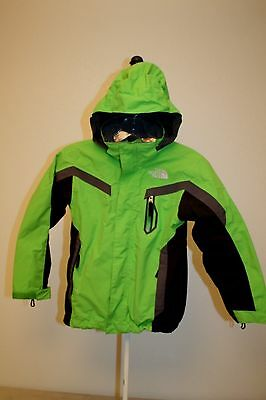 Boys THE NORTH FACE Hooded triclimate jacket / coat (size S 7/8 )